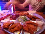Chicken Wings, Wild Wing Cafe, Charleston, SC